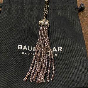 Baublebar beaded tassel necklace